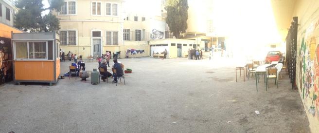 The playground at Oktaviou